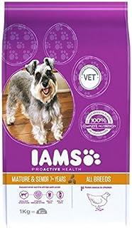 Iams Senior & Mature Dry Dog Food Chicken 1kg (Pack of 2)