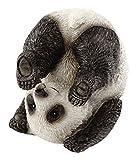 Top Collection Miniatur-Figur, Feengarten und Terrarium, niedlich, Yoga Panda-Plow Pose