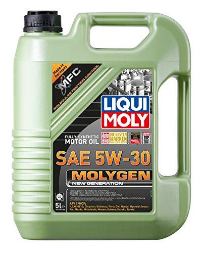 Liqui Moly 20228 Molygen New Generation 5W30 Motor Oil, 5 l, 1 Pack