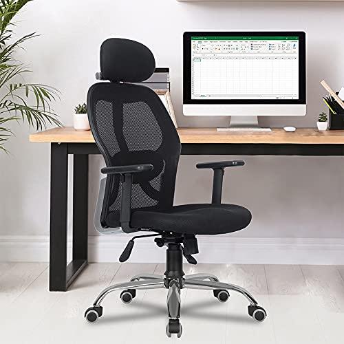 GreenSoul Newyork High Back Mesh Efficient Chair (Black)