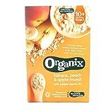 Organix Cereales Apple, melocotón y plátano Muesli - Etapa 3 200g