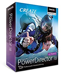 Cyber Link Power Director 18 Ultimate (64-Bit) Videoschnittprogramm Test