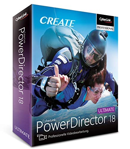 CyberLink PowerDirector 18 Ultimate (64-Bit)