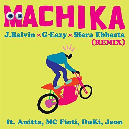 J Balvin, G-Eazy & Sfera Ebbasta feat. Anitta, MC Fioti, DUKI & Jeon