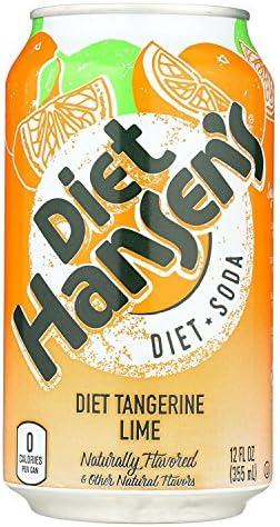 Hansen Soda Lime Tngrn Diet 6pk product image