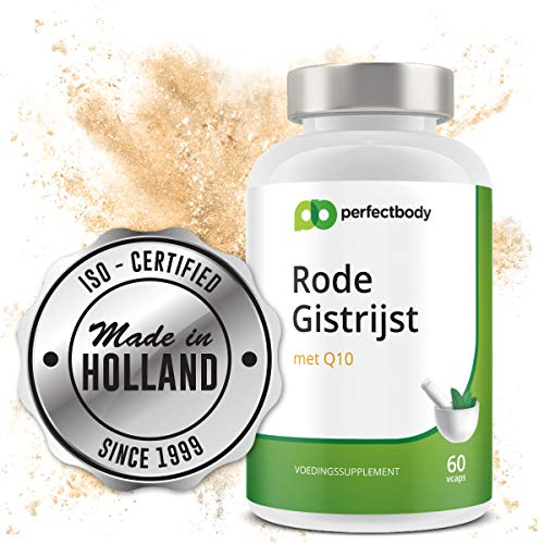 Rode Gist Rijst Capsules Met Q10 [60 Vcaps] PerfectBody.nl