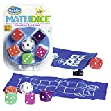 Think Fun- Math Dice Jr. Juego de Habilidad (Ravensburger 76327)