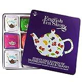English Tea Shop - Feine Teekollektion in edler Metalldose, 72 Tees (9x8) 'Super Fruit' Teegeschenk...