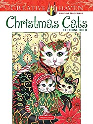 christmas cats coloring book pre-order for 2020