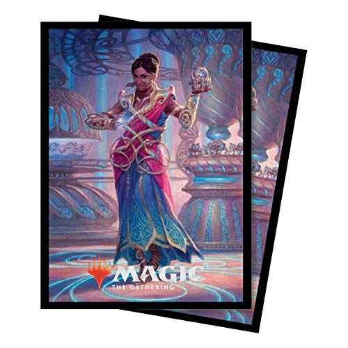 Ultra Pro Magic: The Gathering Commander 2018 Saheeli, The Gifted Deck Protector Sleeves (100 Count)