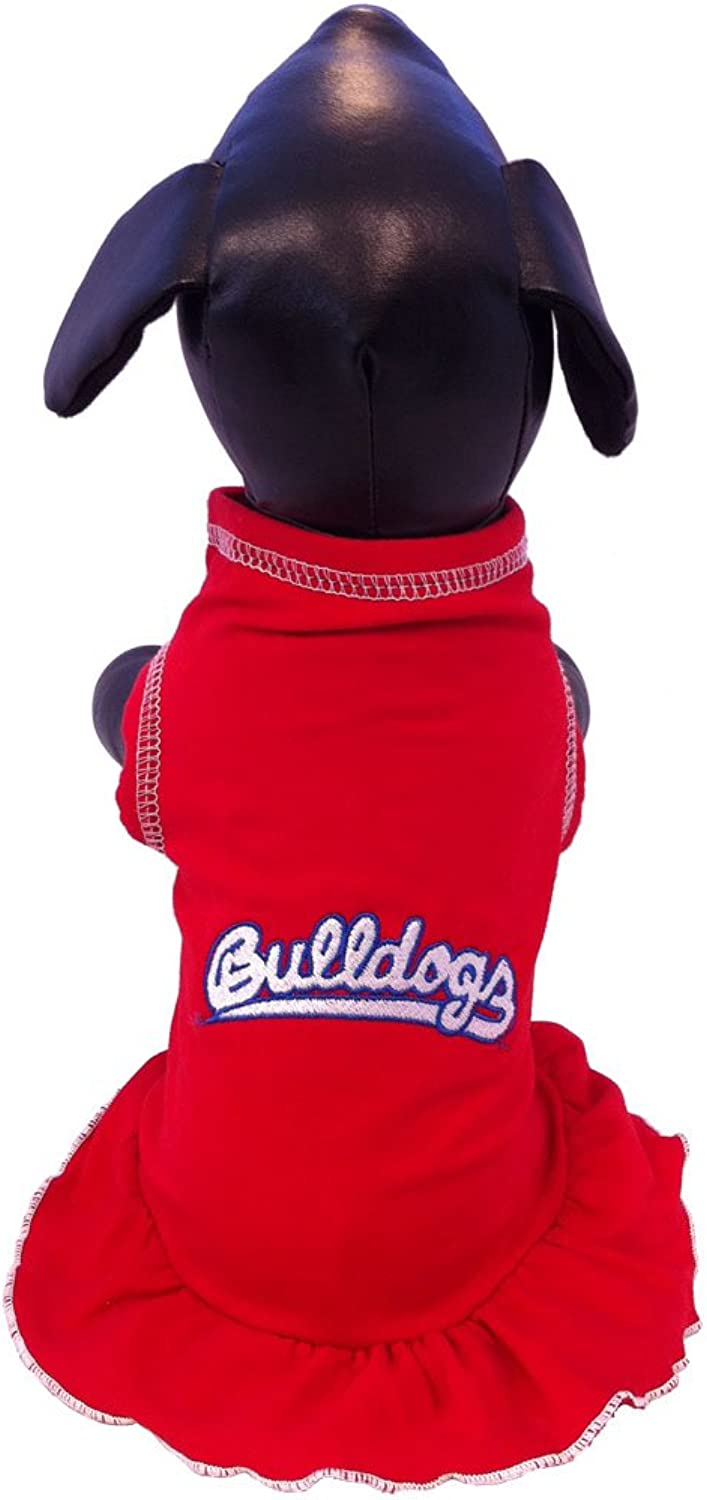 All Star Dogs Fresno State Bulldogs Cheerleader Dress, Small