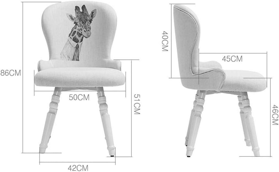 LF Chaise de Salle, Chaise de Bureau Simple, créative Dossier, Chaise Loisirs, Maison Adulte Chaise de Salle Simple (Color : Yellow) Yellow