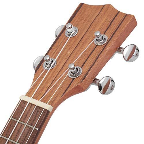 Instrumento musical conveniente ukelele de 21 pulgadas para amantes de la música con tela