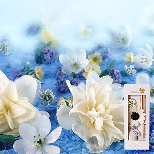 Yiwa Plant geen decoratie aromatherapy voor de keuken thuis voor het reinigen van vluchtige lucht binnen Jasmijn.
