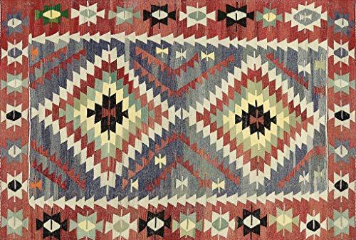 VILBER Alfombra Vinilo Kilim Color 01 155X230X0,22 CM