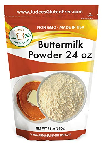 Judee's Buttermilk Powder 1.5 lb (24 oz) - NonGMO, Made in USA, Perfect for Pancakes, Biscuits, Ranch Dressing, Fried Chicken
