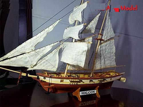 Maquetas De Barcos para Montar Nueva Versión Kits De Modelo De Barco Schooner Español De Baltimore Halcon Cañones Retro Modelo De Velero Oferta De Instrucción En Inglés