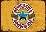 VinMea Kunstdruck auf Leinwand, Newcastle Brown Ale,