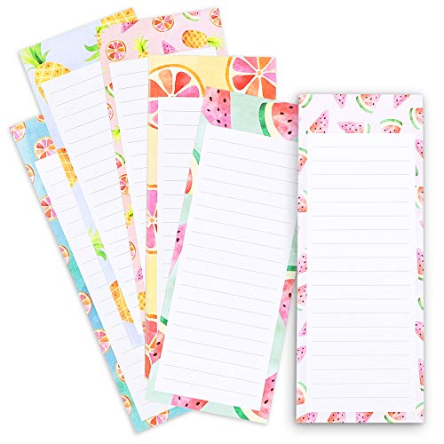 5. Pack of 6 magnetic notepads