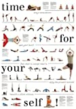 Yoga-poster Mit 67 Asanas, Nice To Meet Your Self E. Peter