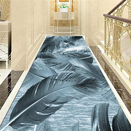 Jjzhb Contemporary Design Moderne loper tapijt, anti-slip loper tapijt voor in de hal en in de vloer, vloerbedekking