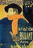The Poster Corp Henri de Toulouse-Lautrec – Ambassadeurs