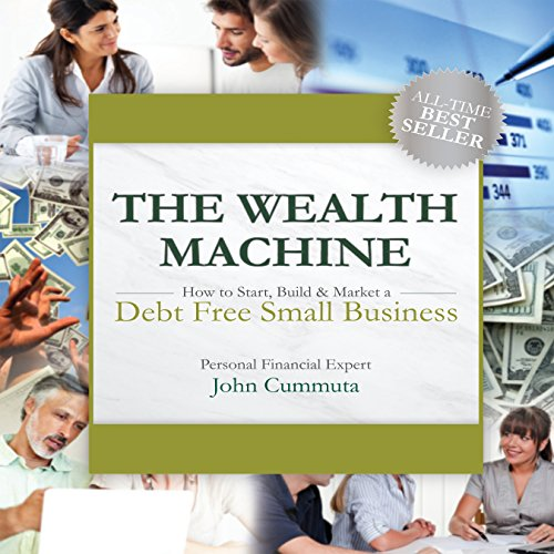 The Wealth Machine audiobook cover art