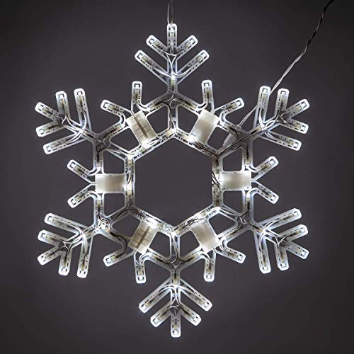 Kringle Traditions Lighted Twinkle Snowflake