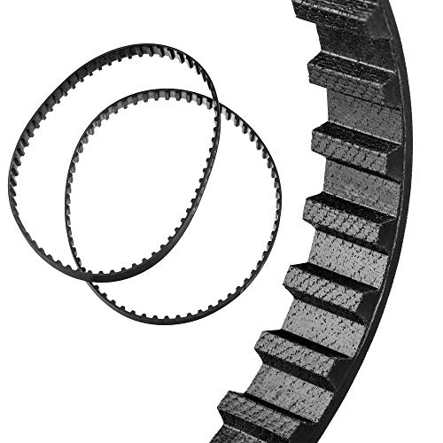 "Drive Belts Set For - SEARS ROEBUCK CRAFTSMAN 4"" BELT SANDER 315.11762 - High Strength Rubber Belts."