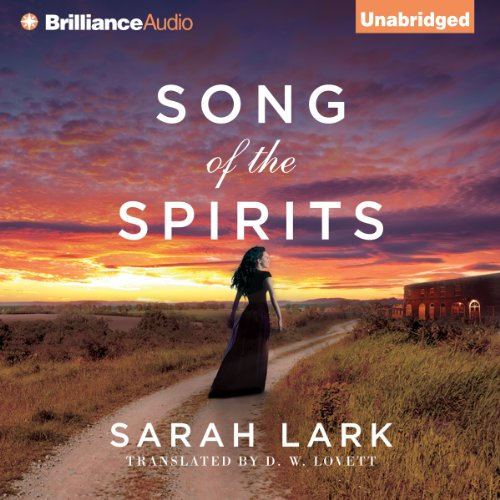 Song of the Spirits     In the Land of the Long White, Book 2              Autor:                                                                                                                                 Sarah Lark,                                                                                        D. W. Lovett (translator)                               Sprecher:                                                                                                                                 Anne Flosnik                      Spieldauer: 20 Std. und 29 Min.     10 Bewertungen     Gesamt 5,0