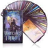Juegos de Tarot - WENTS Witch Tarot Card, Tarot Card Game, Divination Card Game, Unique and Exquisit...