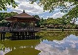 Ukido-Pavillon Nara Park Nara Japan Pavillon Gartenmöbel Reflexion Teichbaum 1000 Stück Verdicktes Großes Puzzle Kindergeburtstagsgeschenke