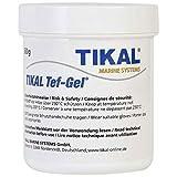 Tikal - Pasta de teflón / base de PTFE / pasta para tornillos de 60 gr - Previene la corrosión y lubricante