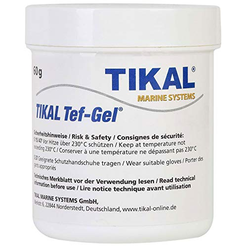 Tikal Tef-Gel/PTFE-basis/schroevenpasta | 60GR | voorkomt corrosie en smeermiddel