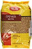 Uvelka Buckwheat Groats Extra, 1x1500 gr (3.3 pounds total)