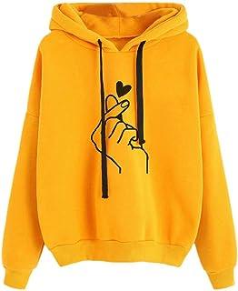 Khhalisi Women's Full Sleeves Sweat Shirt Hoodie