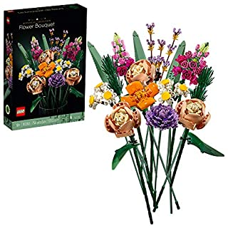 LEGO Flower Bouquet 10280 Building Kit; A Unique Flower Bouquet and Creative Project for Adults, New 2021 (756 Pieces) (B08HW1L75J) | Amazon price tracker / tracking, Amazon price history charts, Amazon price watches, Amazon price drop alerts