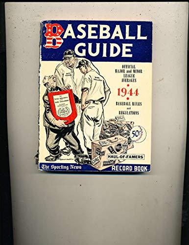 1944 Baseball Guide TSN ex bxbg