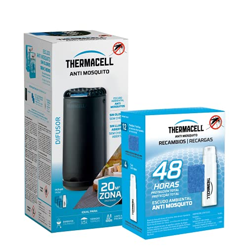 ThermaCELL MRPSL + R1 Difusor Negro + Recambios 48h