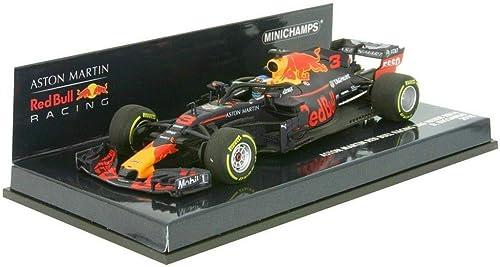 Minichamps 410180003 1 43 2018 Aston Martin rot Bull Racing RB14 Daniel Ricciardo, Multi