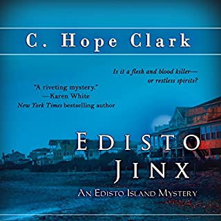 Edisto Jinx                   By:                                                                                                                                 C. Clark                               Narrated by:                                                                                                                                 Jenny Jarnagin                      Length: 12 hrs and 57 mins     7 ratings     Overall 4.1