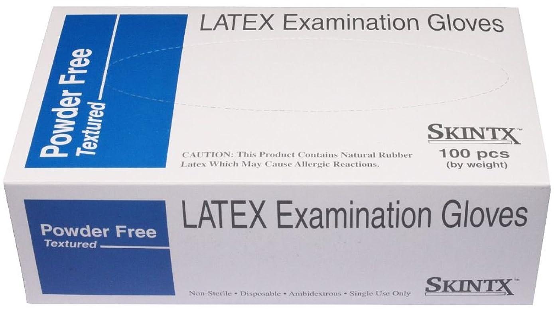 SKINTX 90015 Latex Examination Gloves Powder Free LARGE 1000 Count