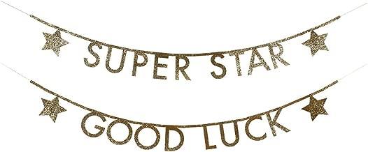 Meri Meri Gold Glitter Letter Garland Kit