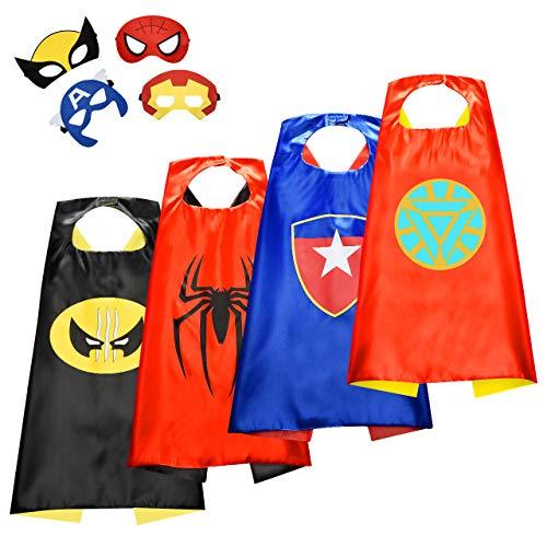 Easony Deguisement Super Hero, Cadeaux Garcon 3 4 5 6-10 Ans Jouets pour Garçons de 3-10 Ans Jouet de Super-héros Jouet Enfant 3-10 Ans Garcon Cadeau Enfant 3-12 Ans Garcon