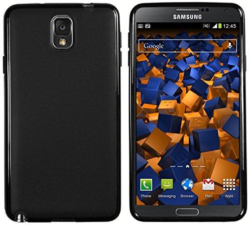 mumbi Hülle kompatibel mit Samsung Galaxy Note 3 Handy Case Handyhülle, schwarz