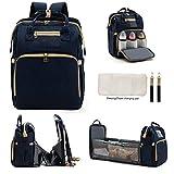 Diaper Bag Backpack Large Baby Bag Large Capacity Multi-Functional Travel Back Pack Thermal Insulation Bag Waterproof Baby Essentials