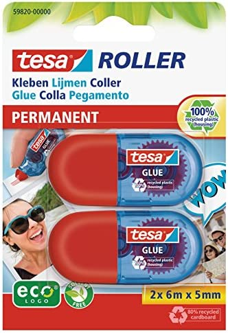 Tesa 57076-00100-00-Colla Stick confezione da 3 pezzi