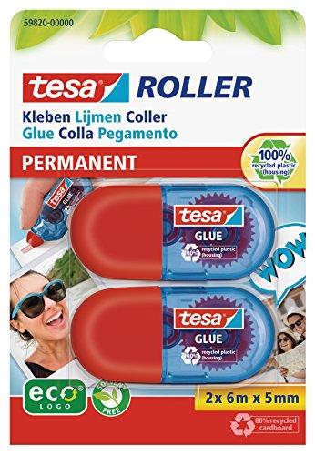 tesa 2x tesa Mini Kleberoller, permanent Bild