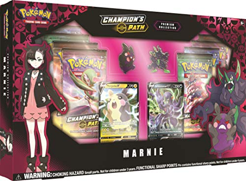 Pokémon TCG: Champion's Path Premium Collection- Marnie