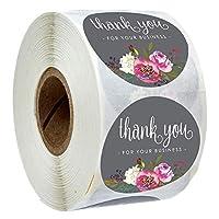 500個はクラフトステッカー金箔の言葉はビジネスギフトの装飾のステッカーのための大きなステッカー私のビジネスを支援するためにあなたに感謝します (Color : S2)